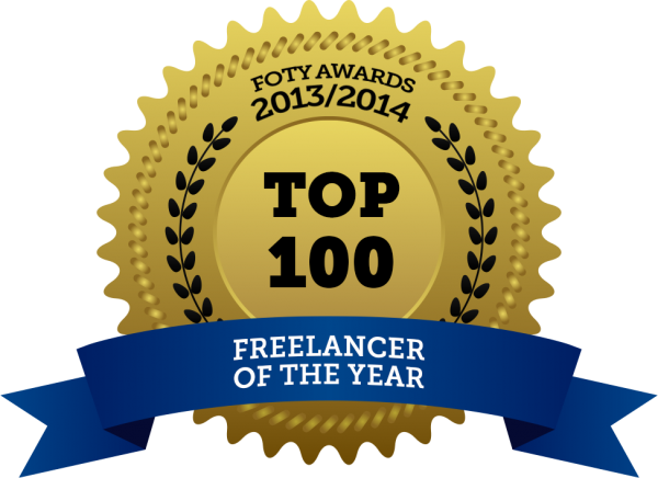 FOTY award top100 Spectra Studio Works freelancer of the year