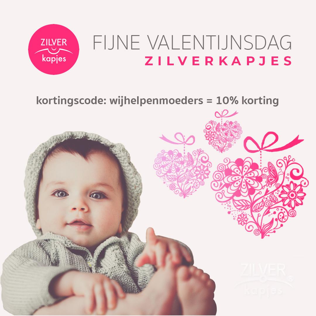 Valentijnsdag valentijn valentijnscadeau zilverkapjes
