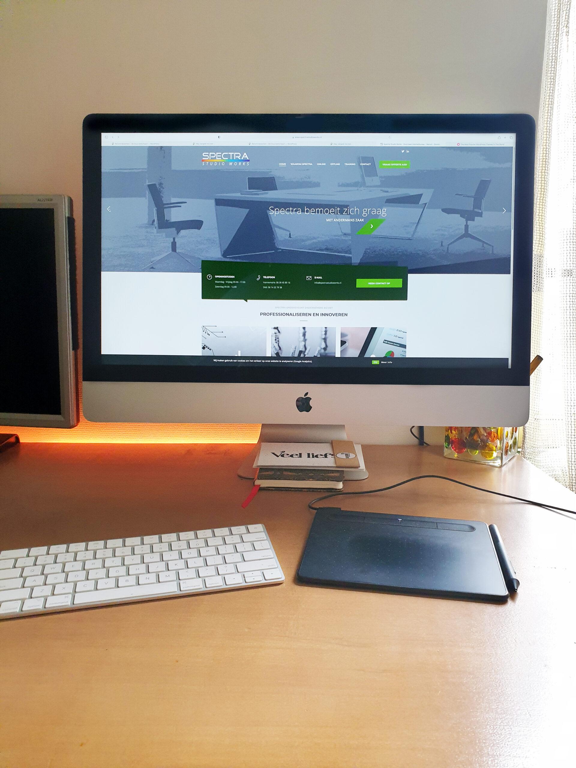 zzp website laten maken thuiswerken