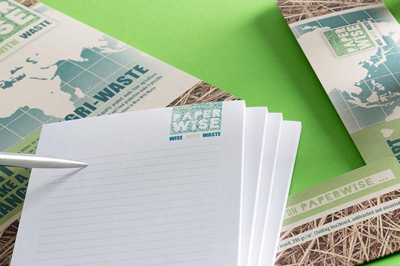 Huisstijl voor kantoor is een toepassingen van het papier van PaperWise