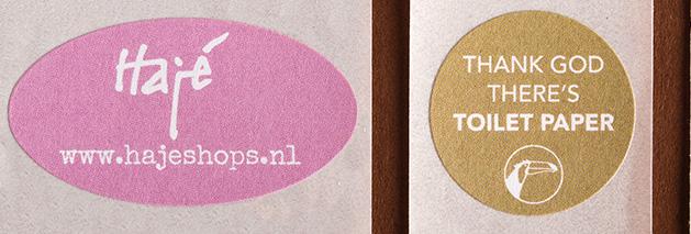 PaperWise Verpakking en stickers voor bv Haje en van der Valk hotels