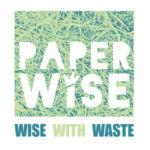 Paperwise logo Maakt papier en karton van landbouwafval. afvalvermindering grondstoffen milieu