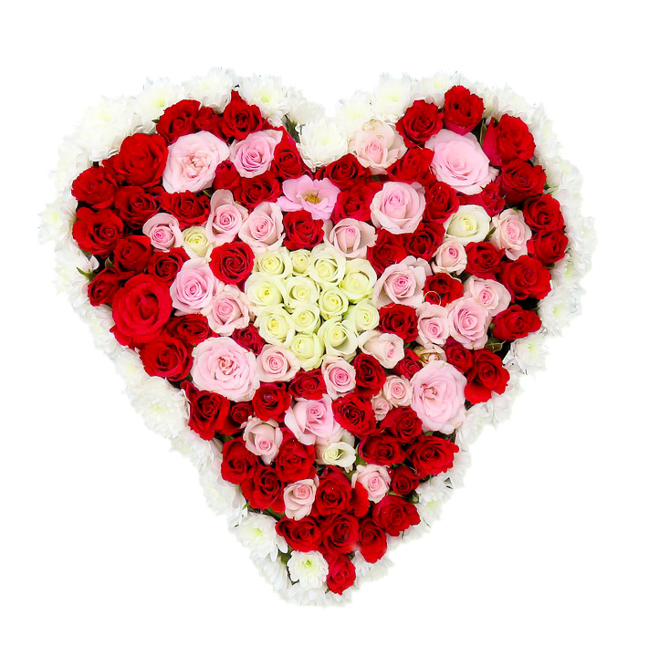 Hart rode rozen online bloemen Florapro valentijn boeket De Duurzame Kaart