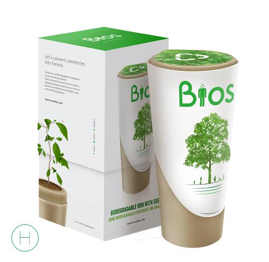 De Bios Urn™ op De Duurzame Kaart is composteerbaar