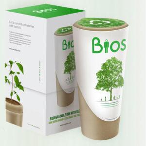 Biologische urn Bios Urn™ biologische afbreekbare urn