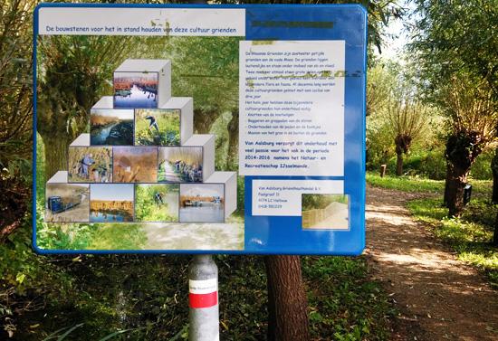 Rhoonse Grienden wandelen natuurgebied regels bord Blog De Duurzame Kaart