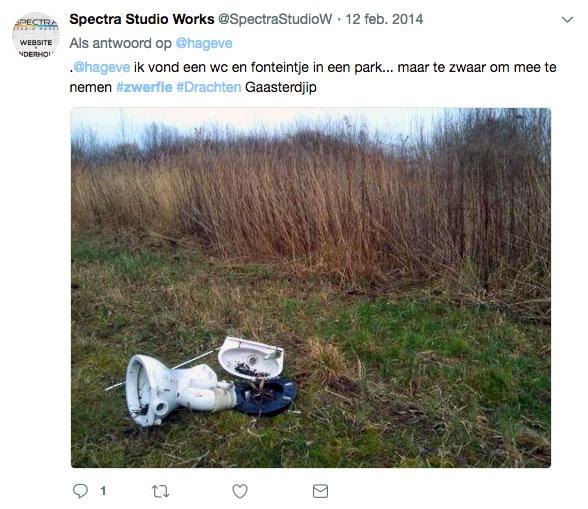 Zwerfie Spectra Studio Works Henk Vrugt De Duurzame Kaart