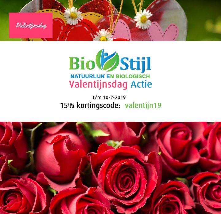 Biostijl Valentijn kortingscode