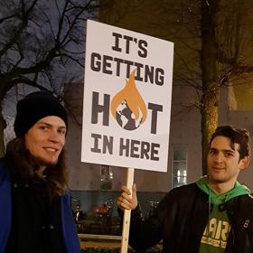 Jongeren protesteren Earth Strike Groningen actie voeren De Duurzame Kaart