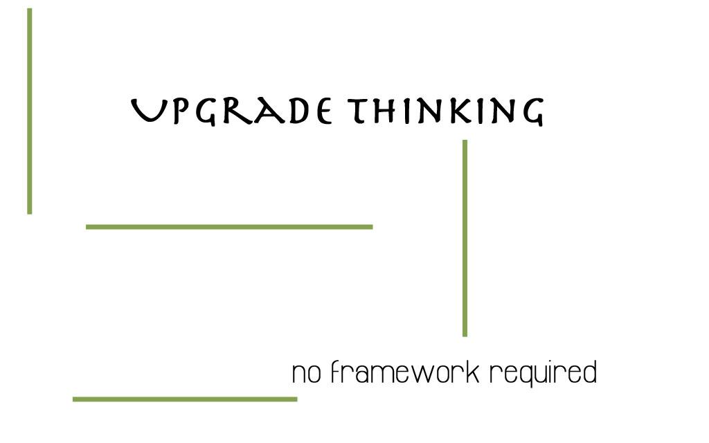 Upgrade thinking betaal wat je wilt De Duurzame Kaart