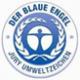 Logo leidt naar Der Blaue Engel, Duits ecolabel