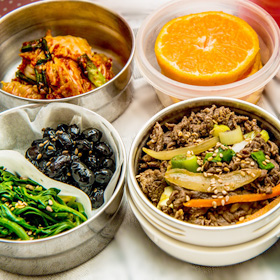 hergebruik lunchbakje tegen voedsel verspillen