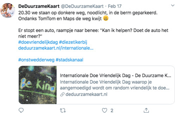 Internationale Doe Vriendelijk Dag in Stadskanaal
