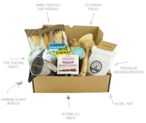 Relatiegeschenk duurzame pakketten eco cadeau's
