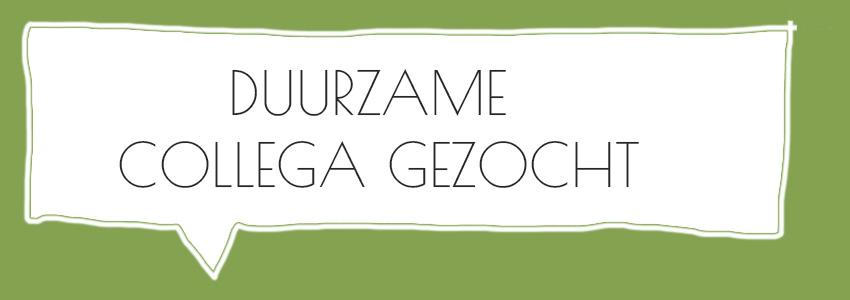 Vacatures sustainability vacature job duurzaamheid organisatie De Duurzame Kaart