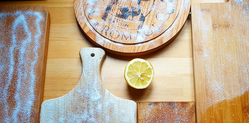 Houten snijplank schoonmaken onderhouden De Duurzame Kaart