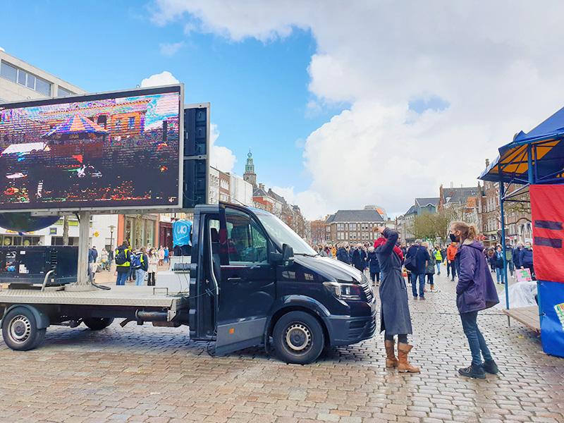 Klimaatalarm Groningen podium De Duurzame Kaart