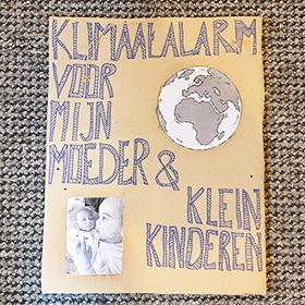 Klimaatalarm Groningen protestbord De Duurzame Kaart