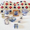 Vintage Duurzaam Cadeau Pakket Rood Wit Blauw