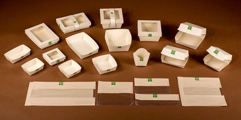Duurzame wegwerpverpakkingen van PaperWise