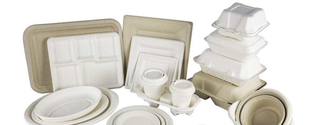 PFAS in disposables van suikerriet duurzame wegwerpverpakking